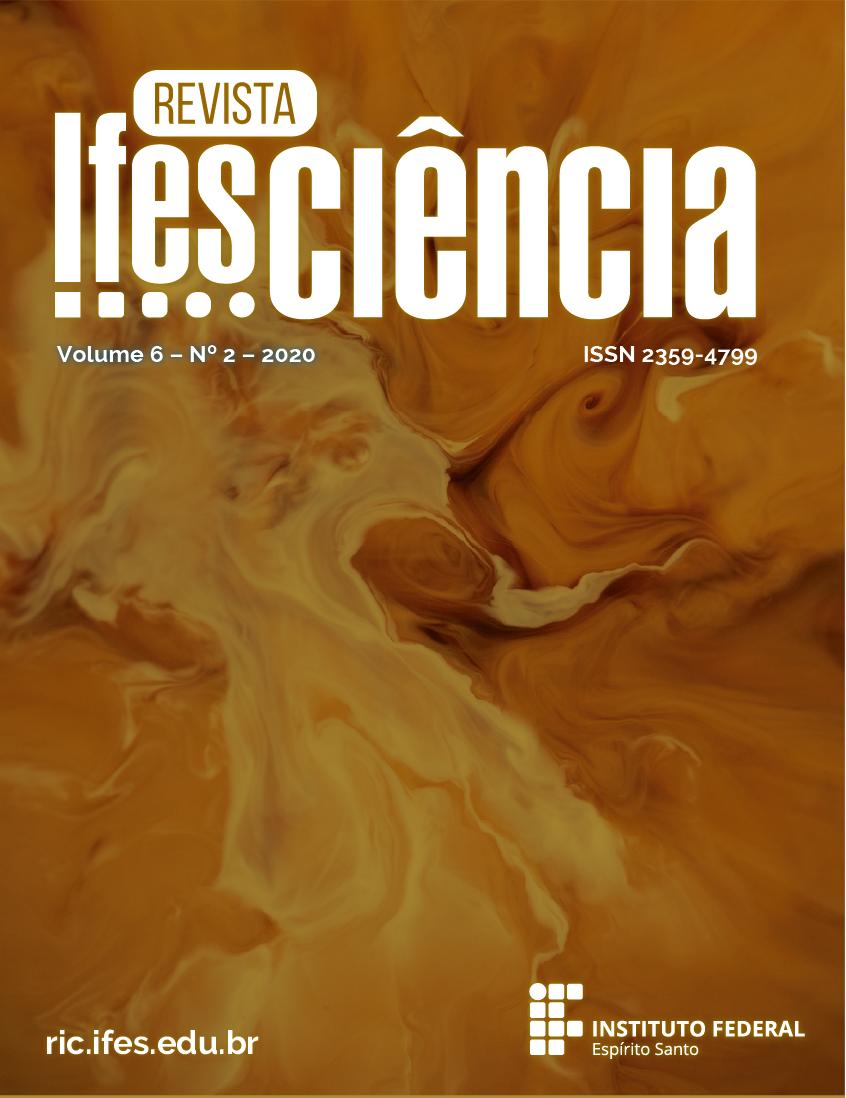 Visualizar v. 6 n. 2 (2020): Revista Ifes Ciência - ISSN 2359-4799