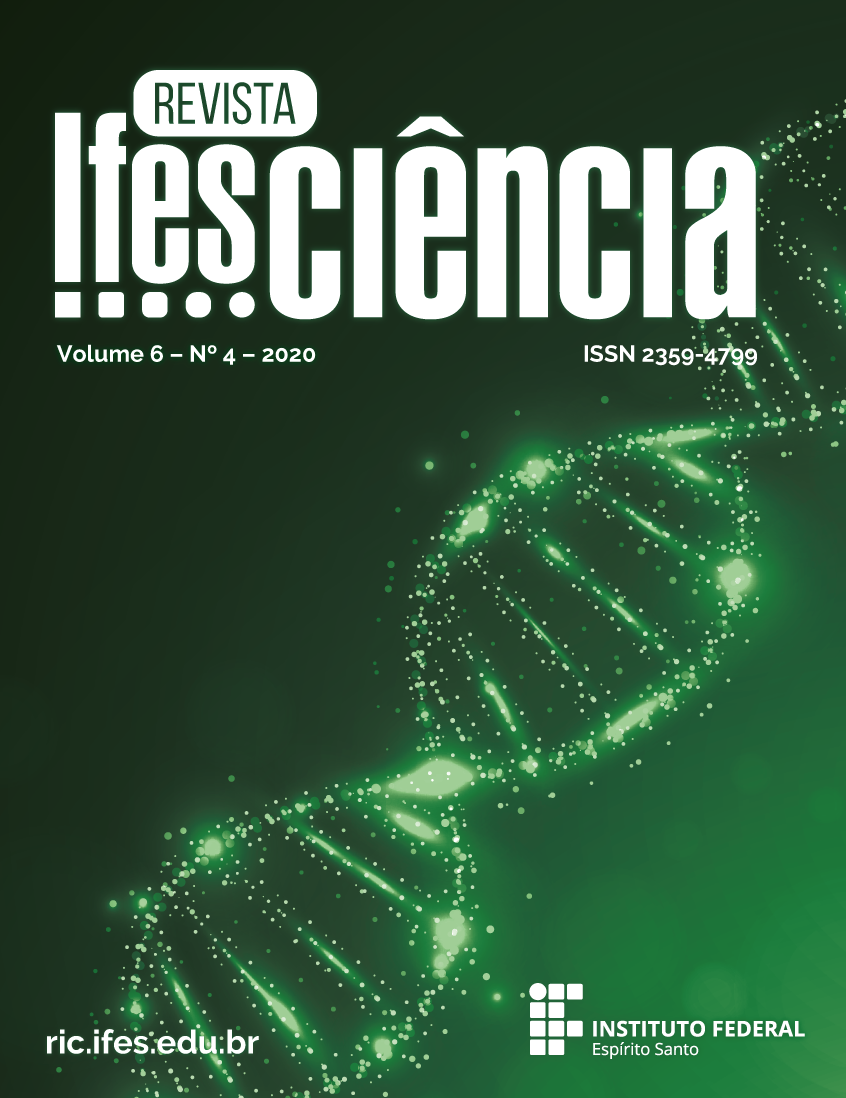 Visualizar v. 6 n. 4 (2020): Revista Ifes Ciência