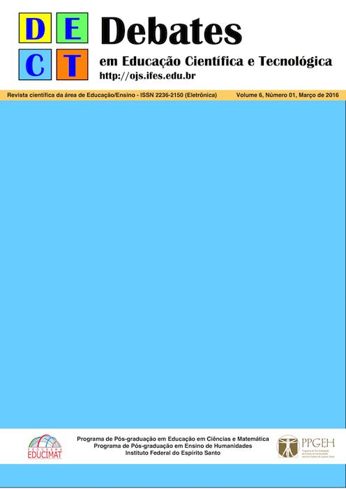 Este número da Revista DECT inclui alguns artigos apresentados na forma de trabalhos completos no 6o. Simpósio Educação e Comunicação,realizado durante o 4º Congresso Ibero-Americano em Investigação Qualitativa, em Aracaju – Brasil, nas instalações da Universidade Tiradentes, de 5 a 7 de agosto de 2015, além de outros artigos submetidos no portal da Revista DECT em 2015.