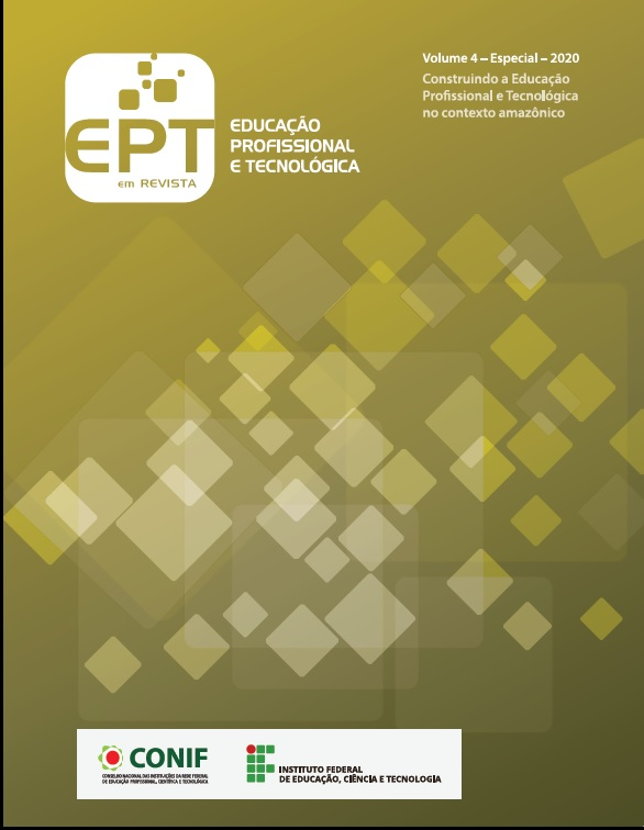 Visualizar v. 4 n. Especial (2020): Educação Profissional e Tecnológica em Revista