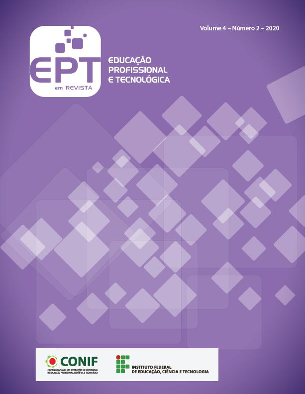 Visualizar v. 4 n. 2 (2020): Educação Profissional e Tecnológica em Revista