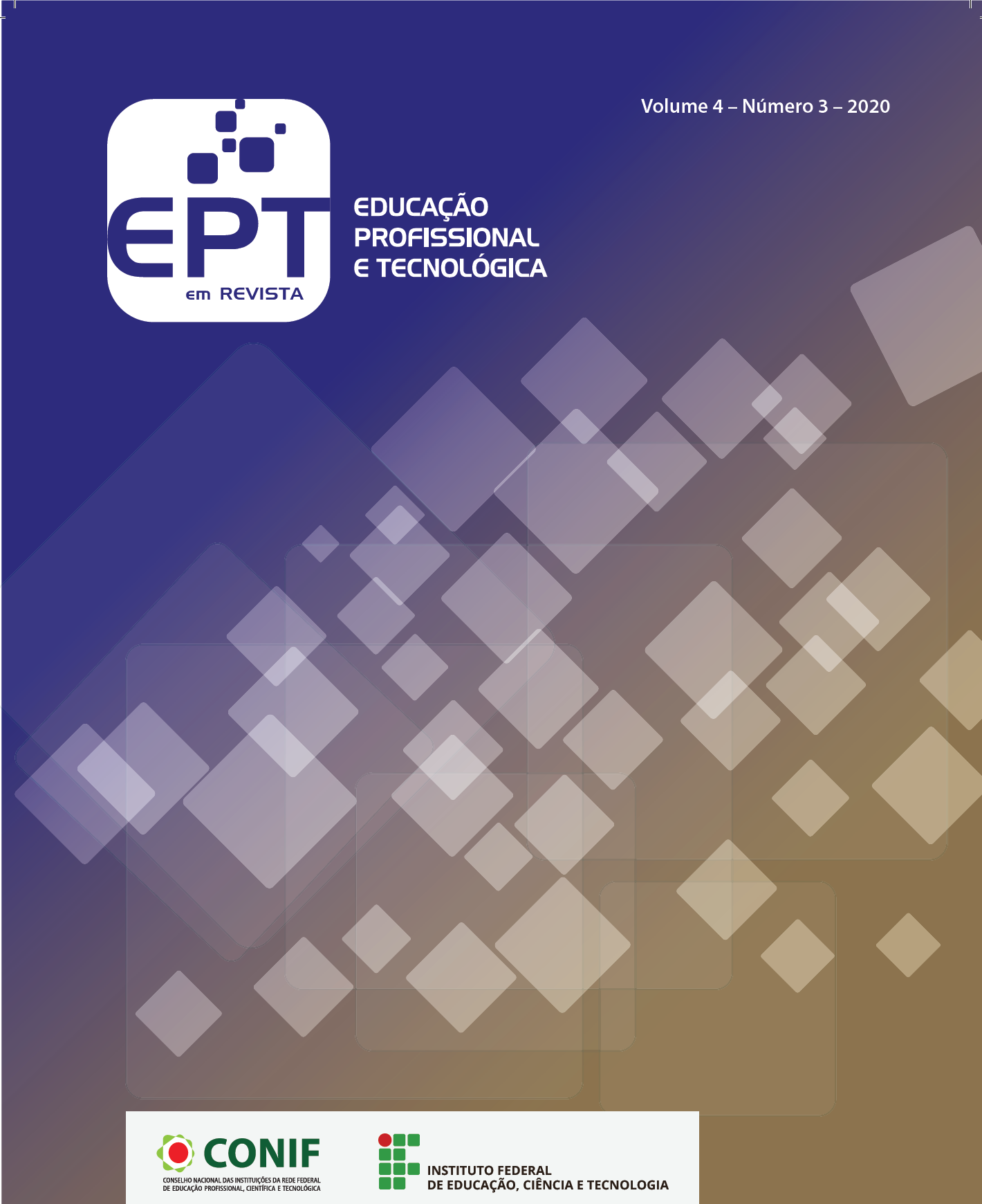 Visualizar v. 4 n. 3 (2020): Educação Profissional e Tecnológica em Revista